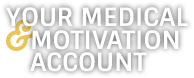 Enter Medical and Motivation active icon